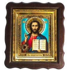 Икона с частицей ладана со Святой горы Афон