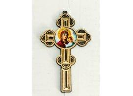 Крест в руку с ликом