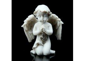 Ангел с Крестом из страз